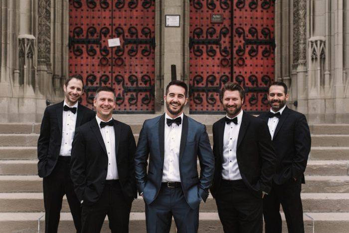 Classic Groom Attire: Modern Fairy Tale Inspired Wedding from Whitling Photography featured on Burgh Brides