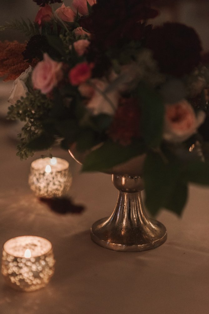 Blush and Marsala Wedding Flowers: Modern Fairy Tale Inspired Wedding from Whitling Photography featured on Burgh Brides