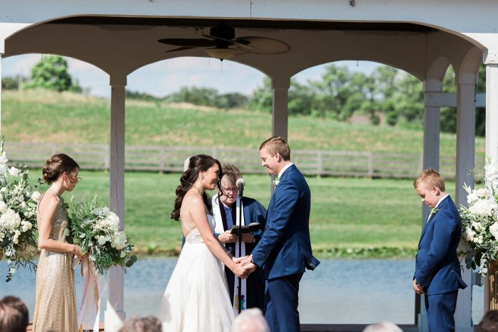 Rustic Blue & Green Wedding from Breanna Elizabeth Photography featured on Burgh Brides