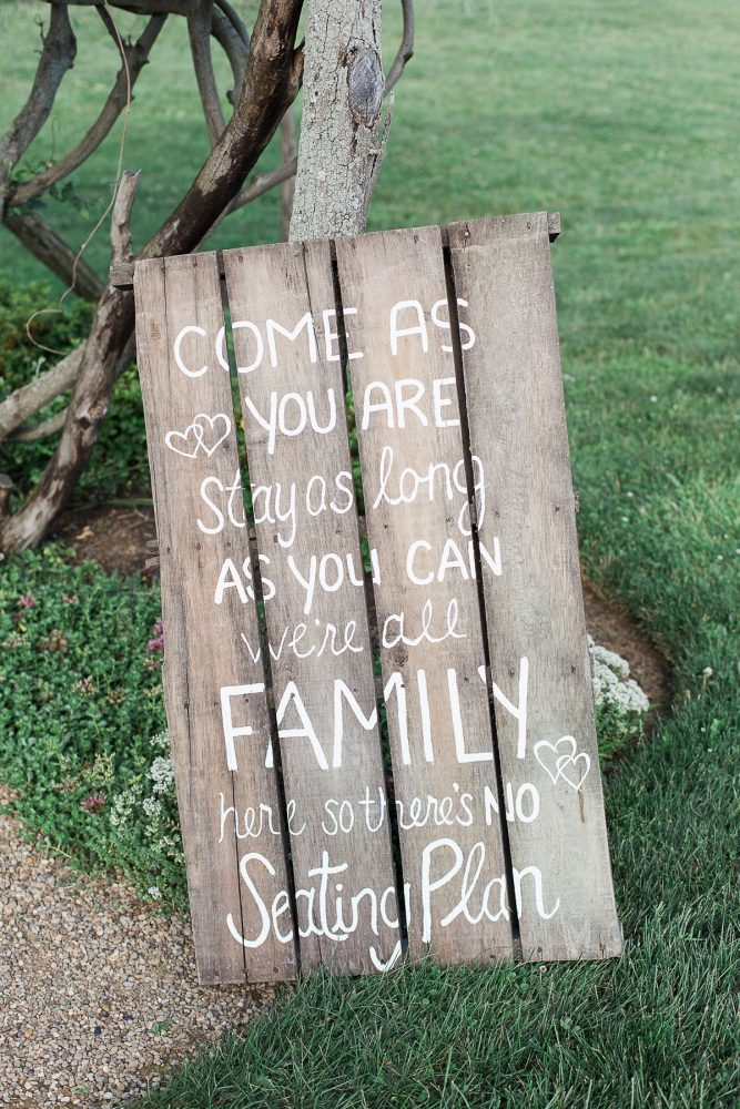 Wooden Wedding Signs: Rustic Blue & Green Wedding from Breanna Elizabeth Photography featured on Burgh Brides