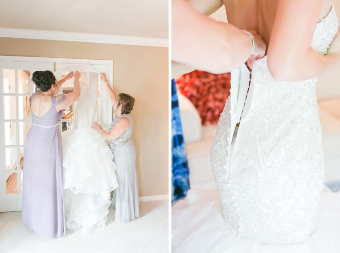 Soft Lavender & Gray Wedding at the Pittsburgh Field Club from Laura Kathleen Photography featured on Burgh Brides
