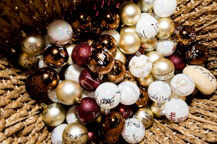 Christmas Ornament Wedding Guest Book Idea: Wedding Ideas & Details: Best of 2017 from Burgh Brides