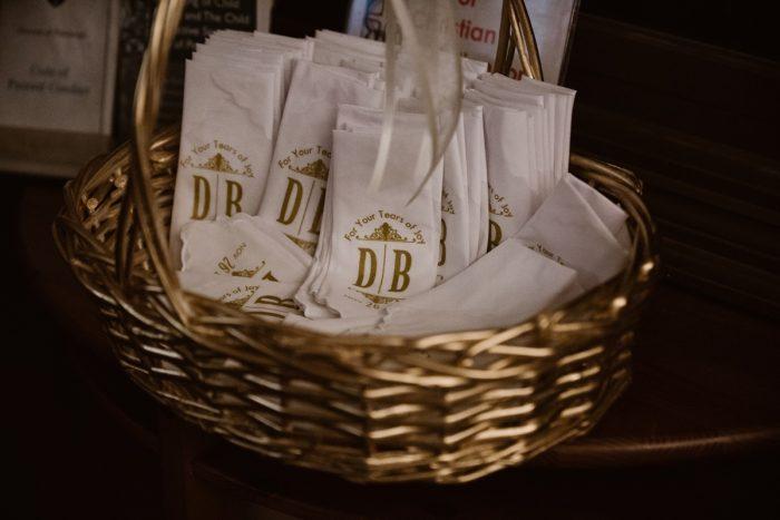 Personalized Wedding Ceremony Handkerchiefs: Wedding Ideas & Details: Best of 2017 from Burgh Brides