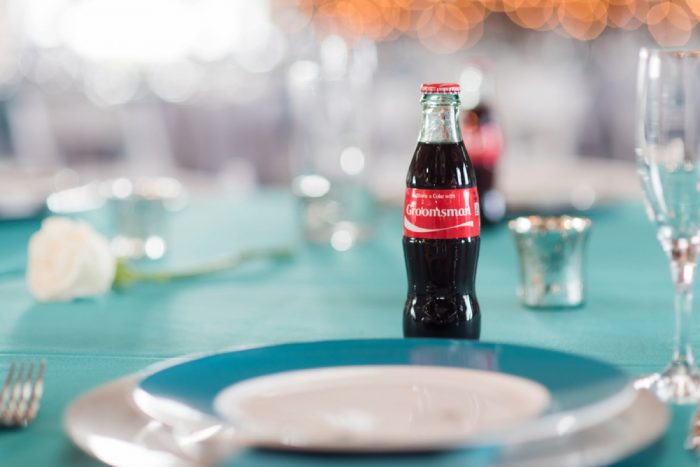 Personalized Glass Coke Bottles: Wedding Ideas & Details: Best of 2017 from Burgh Brides