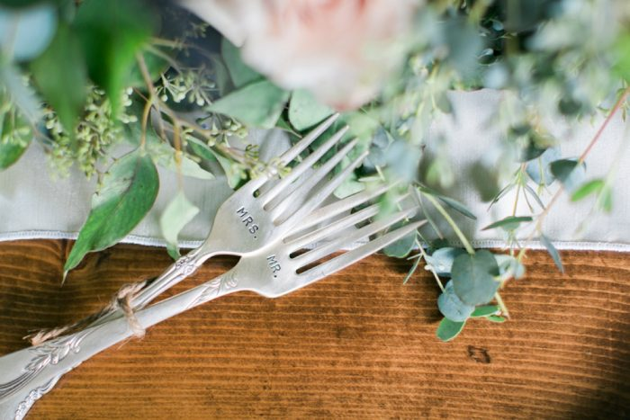 Mr and Mrs Wedding Day Bride and Groom Cake Forks: Wedding Ideas & Details: Best of 2017 from Burgh Brides
