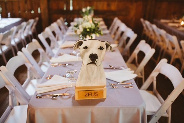 Dog Wedding Table Numbers: Wedding Ideas & Details: Best of 2017 from Burgh Brides