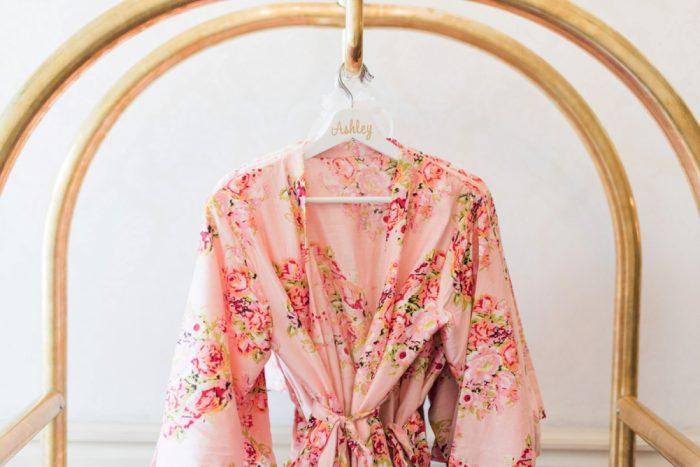 Floral Wedding Day Bridal Robe: Wedding Ideas & Details: Best of 2017 from Burgh Brides