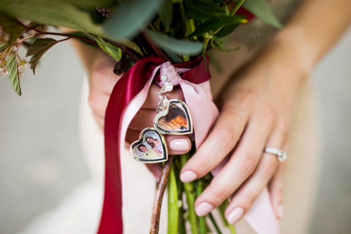 Wedding Day Bridal Bouquet Locket: Wedding Ideas & Details: Best of 2017 from Burgh Brides