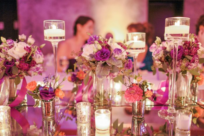Mirror and Mercury Glass Wedding Day Centerpieces: Wedding Ideas & Details: Best of 2017 from Burgh Brides