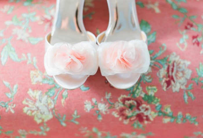 Pink Peep Toe Floral Heels: Wedding Ideas & Details: Best of 2017 from Burgh Brides