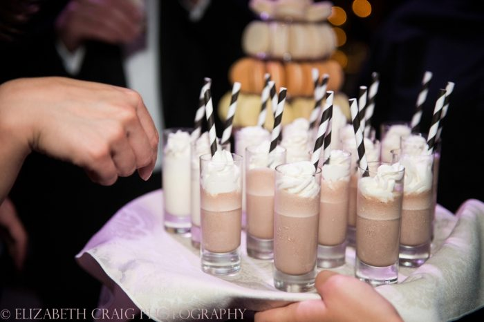 Milkshake Shooters at Wedding: Wedding Ideas & Details: Best of 2017 from Burgh Brides