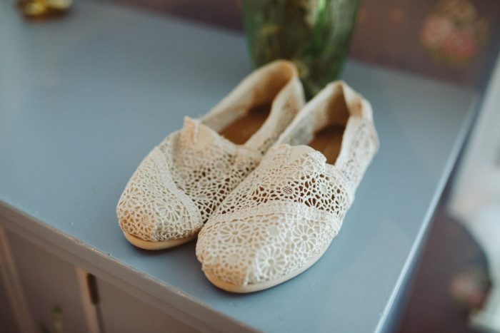 Wedding Day Shoes Ideas Flat Toms: Wedding Ideas & Details: Best of 2017 from Burgh Brides