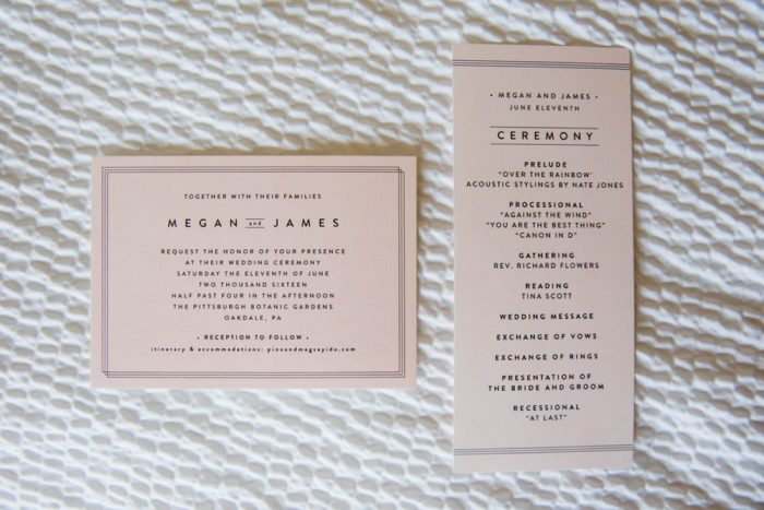Pink Wedding Invitations: Wedding Ideas & Details: Best of 2017 from Burgh Brides