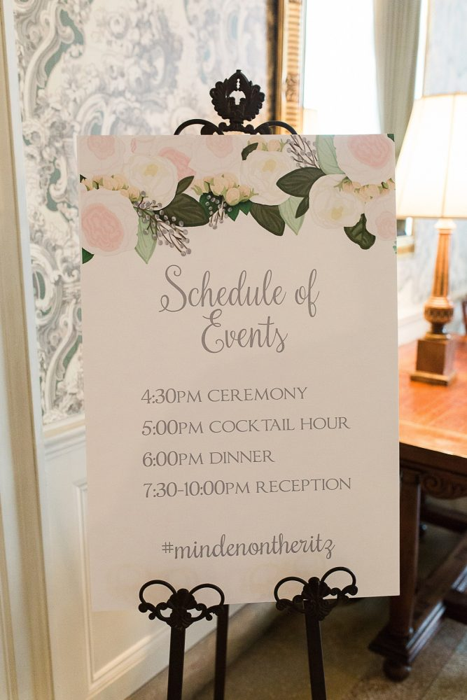 Wedding Signs Schedule of Events: Wedding Ideas & Details: Best of 2017 from Burgh Brides