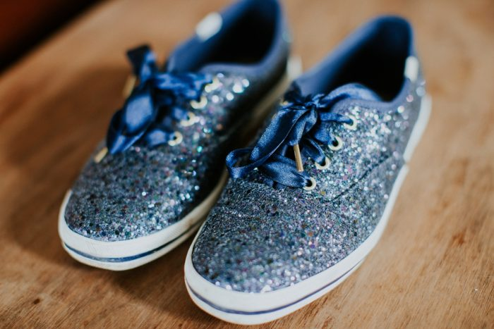 Navy Blue Glitter Wedding Day Bridal Shoes: Wedding Ideas & Details: Best of 2017 from Burgh Brides