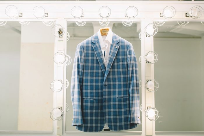 Blue Plaid Groom Suit Wedding Day: Wedding Ideas & Details: Best of 2017 from Burgh Brides