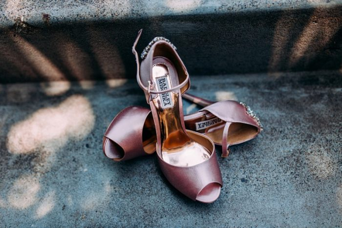 Pink Peep Toe Wedding Day Shoes: Wedding Ideas & Details: Best of 2017 from Burgh Brides
