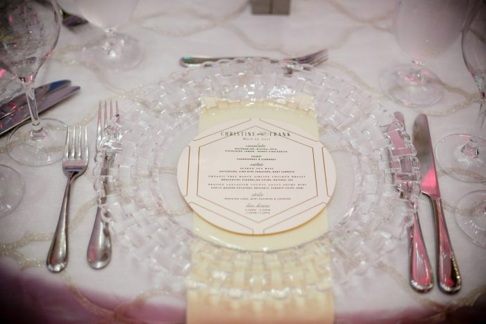 Wedding Day Menu Cards Tablescape: Wedding Ideas & Details: Best of 2017 from Burgh Brides