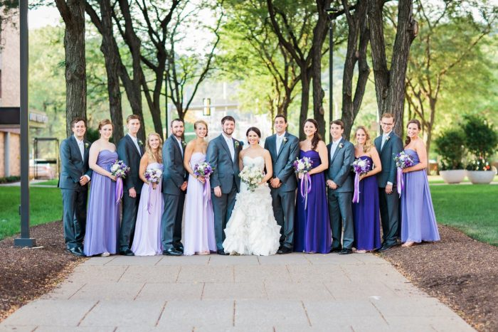 Ombre Bridesmaids Dresses: Wedding Ideas & Details: Best of 2017 from Burgh Brides