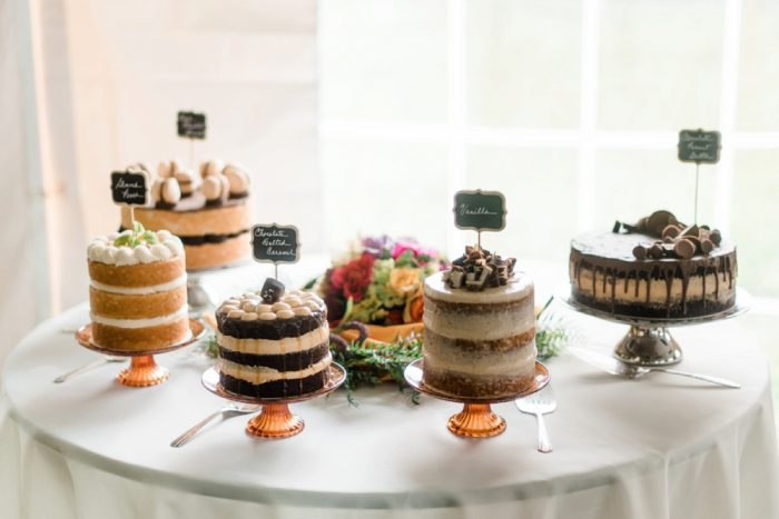 Assorted Cakes at Wedding: Wedding Ideas & Details: Best of 2017 from Burgh Brides