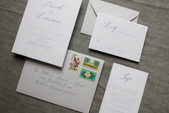 Hello Rachel Creative - Pittsburgh Wedding Stationery Designer & Burgh Brides Vendor Guide Member