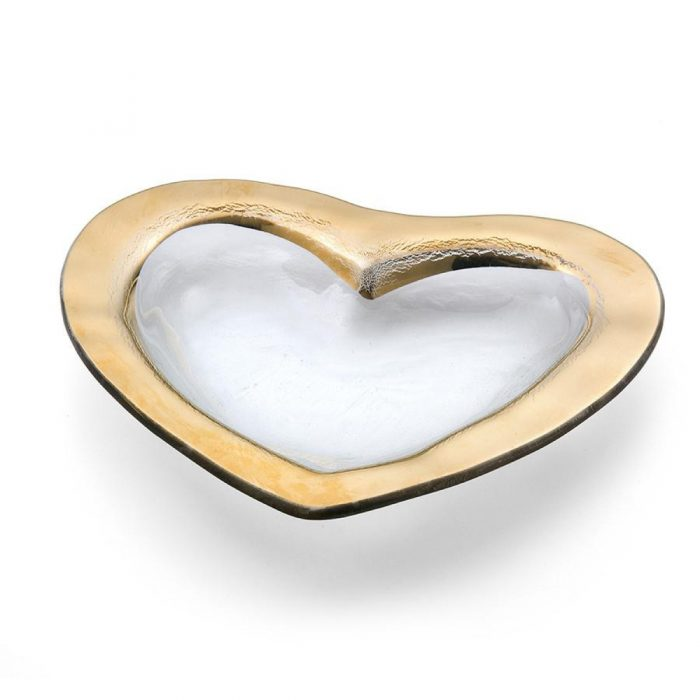 Heart Shaped Glass Dish: Engagement Gift Ideas from Burgh Brides