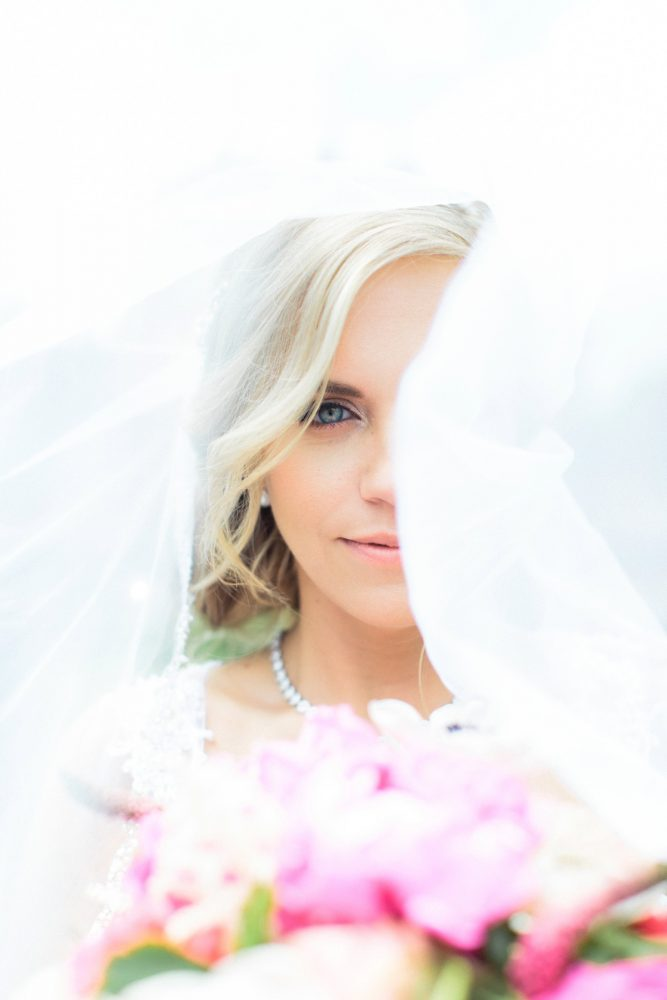 Soft Bridal Wedding Day Makeup: Bright Vintage Inspired Wedding from Lauren Renee Designs featured on Burgh Brides