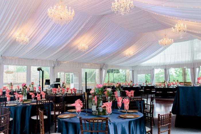 Wedding Tent Draping Ideas: Bright Vintage Inspired Wedding from Lauren Renee Designs featured on Burgh Brides
