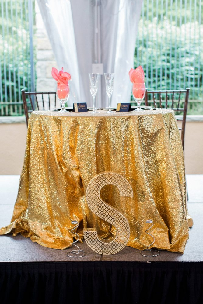 Sweetheart Table Ideas: Bright Vintage Inspired Wedding from Lauren Renee Designs featured on Burgh Brides