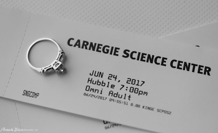A Carnegie Science Center Wedding: 6 Reasons It's a Really Good Idea from Burgh Brides
