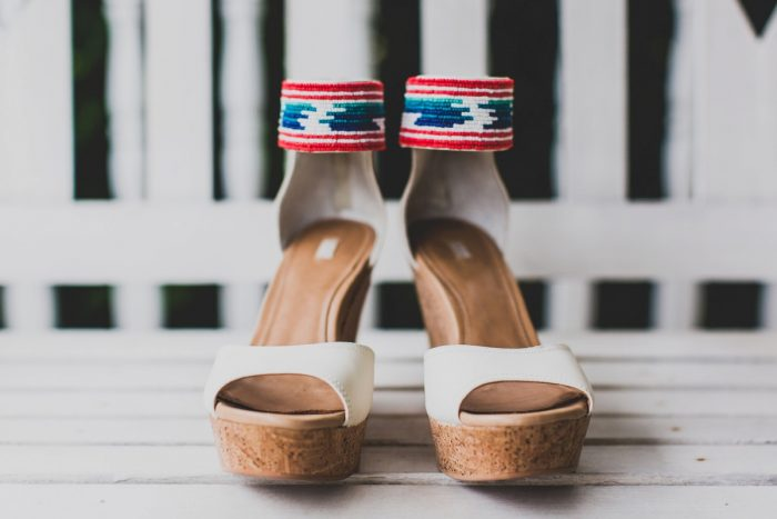 Indie Wedding Shoes for Bride: Fun Music Inspired Wedding from Ryan Zarichnak Photography featured on Burgh Brides