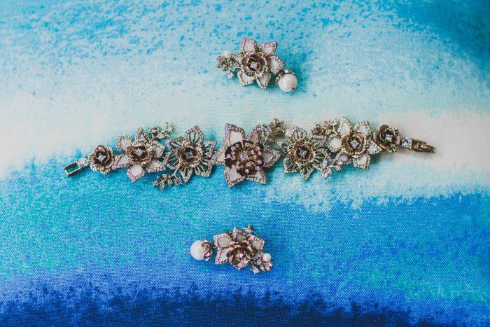 Sparkly Wedding Day Accessories for Bride: Fun Music Inspired Wedding from Ryan Zarichnak Photography featured on Burgh Brides