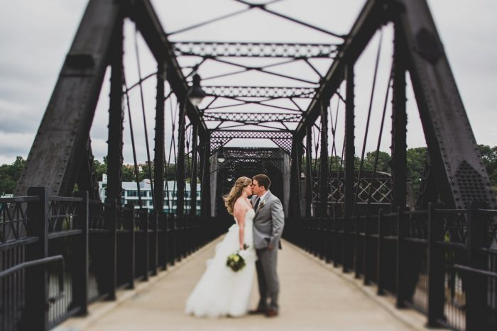 Pittsburgh Wedding Day Portraits of Bride and Groom: Fun Music Inspired Wedding from Ryan Zarichnak Photography featured on Burgh Brides