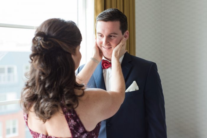 Navy & Burgundy Wedding from Madeline Jane Photography featured on Burgh Brides