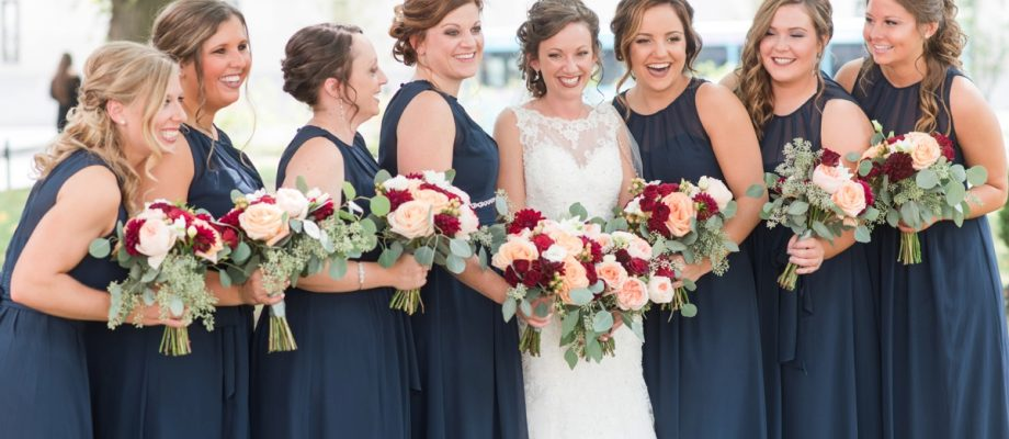 Navy & Burgundy Wedding at the Circuit Center: Jamie & Adam