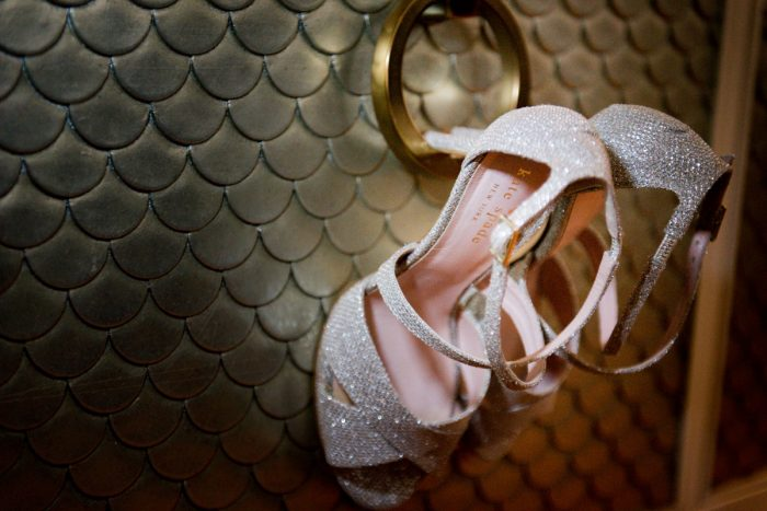 Strappy Bridal Heels for Wedding Day: Lavish City Wedding from Poppy Events & Leeann Marie, Wedding Photographers featured on Burgh Brides