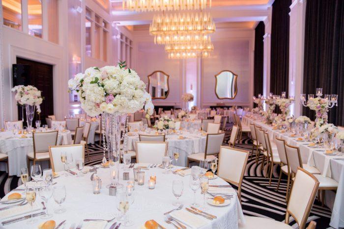 Elevated Wedding Centerpieces: Lavish City Wedding from Poppy Events & Leeann Marie, Wedding Photographers featured on Burgh Brides