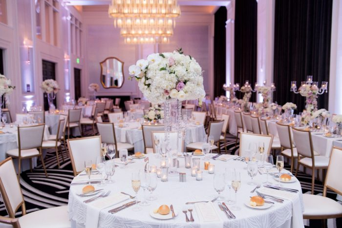 Elevated Wedding Centerpieces: Lavish City Wedding from Poppy Events & Leeann Marie, Wedding Photographers featured on Burgh Brides