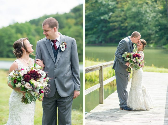 Rustic Glam Wedding at Seven Springs from Simply Kacie Photography featured on Burgh Brides