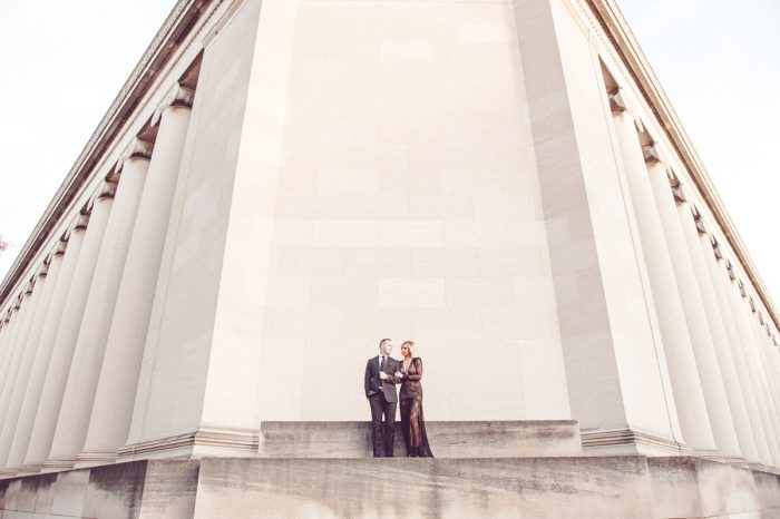 Sexy City Engagement Session from Palermo Photography featured on Burgh Brides