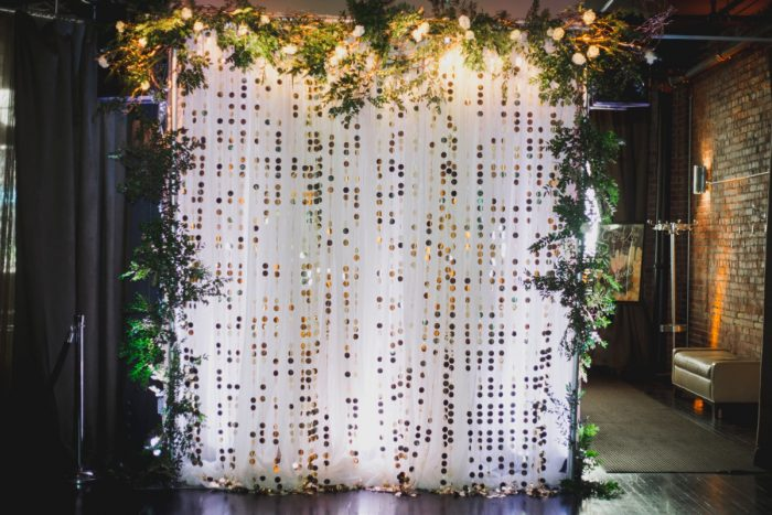 Wedding Ceremony Backdrop Ideas: Simple & Intimate Wedding from BNK Photo featured on Burgh Brides