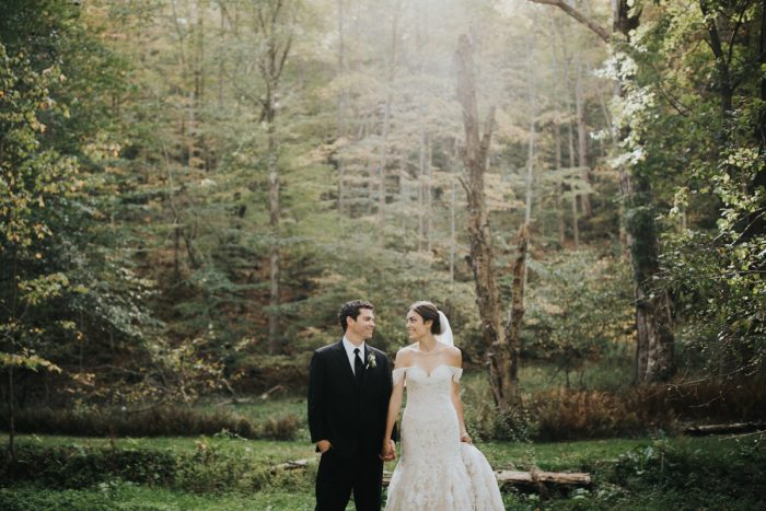Soft & Romantic Outdoor Wedding from Oakwood Photo + Video featured on Burgh Brides