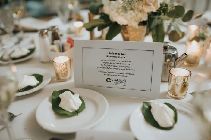 Wedding Favor Ideas: Soft & Romantic Outdoor Wedding from Oakwood Photo + Video featured on Burgh Brides