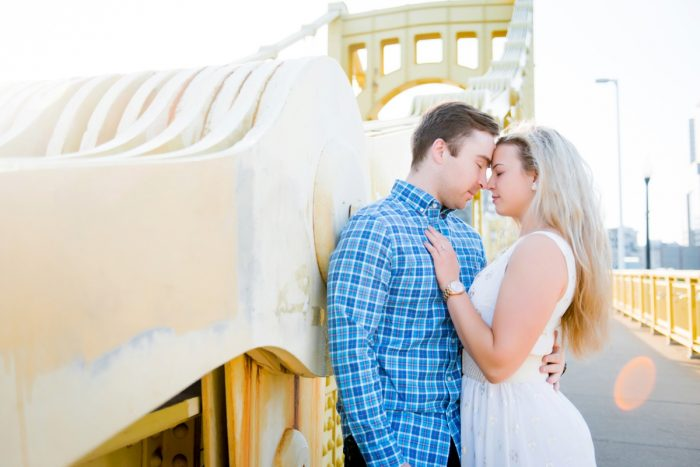 Pittsburgh Engagement Photo Ideas: Summery North Shore Engagement Session from Leeann Marie, Wedding Photographers featured on Burgh Brides