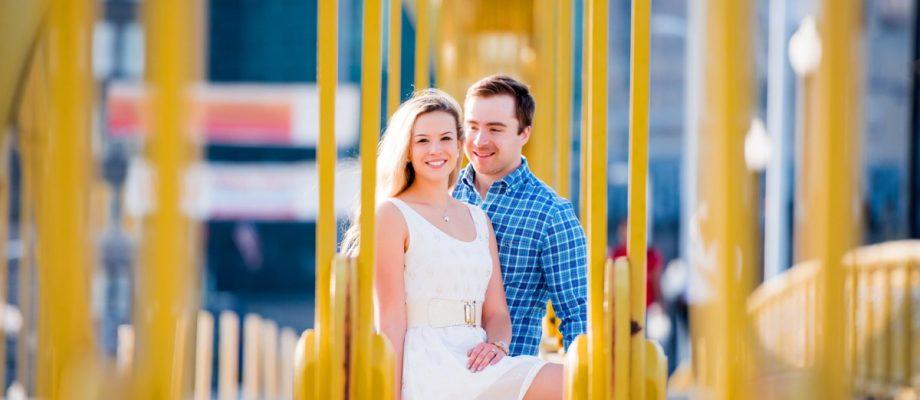 Summery North Shore Engagement Session: Juliana & Dan