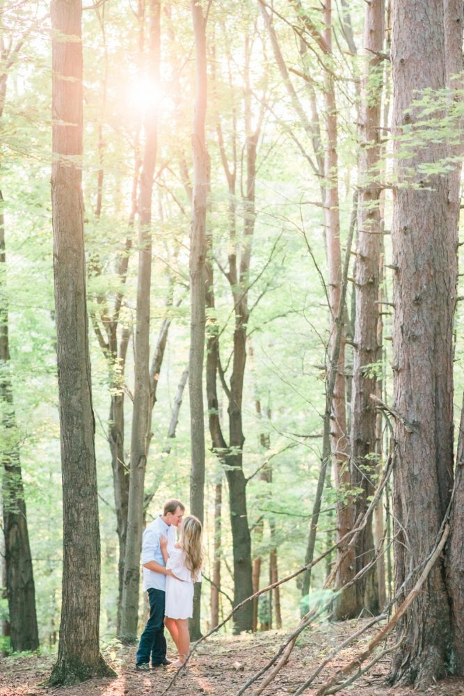 Outdoor Engagement Session Ideas: Sweet Outdoor Engagement Session from Kathryn Hyslop Photography featured on Burgh Brides