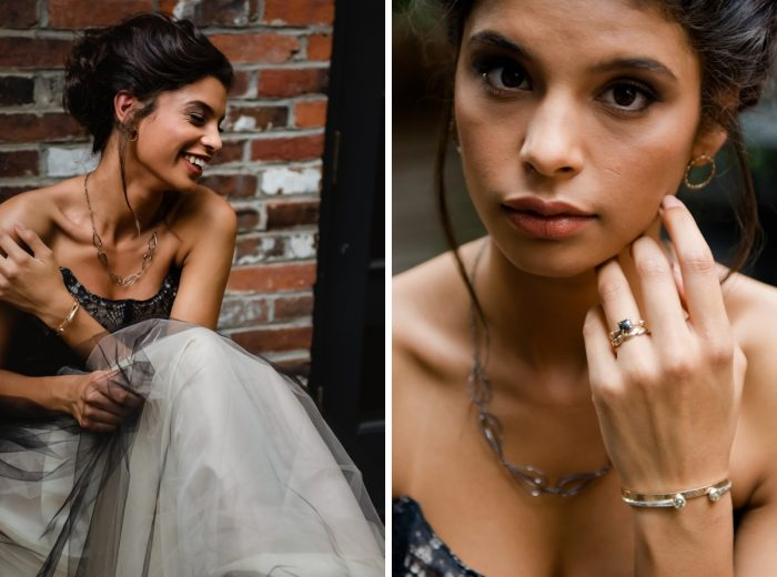 Fresh and Natural Wedding Day Makeup for Bride: Tuscan Inspired Wedding Styled Shoot from A&L Events and Wanderlust Images featured on Burgh Brides