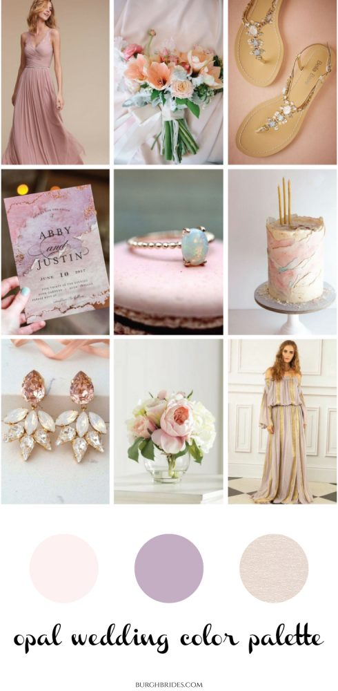 Opal Wedding Inspiration That is Sure to WOW from Burgh Brides!