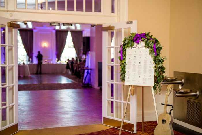 Wedding Seating Chart Ideas: Bold Sangria Wedding at the University Club from Jenna Hidinger Photography featured on Burgh Brides