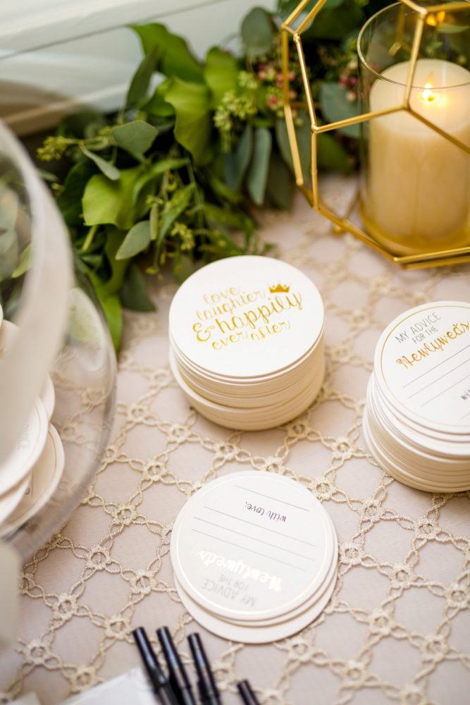 Fun Wedding Coasters: Bold Sangria Wedding at the University Club from Jenna Hidinger Photography featured on Burgh Brides
